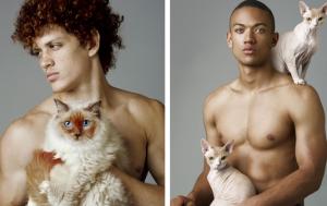 Фотограф показав, що чоловіки схожі на котів