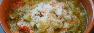 Risultati immagini per minestrone parmigiano