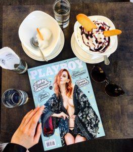 Українська модель прикрасила обкладинку журналу Playboy Італія
