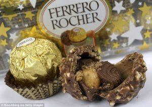 Risultati immagini per Ferrero Rocher