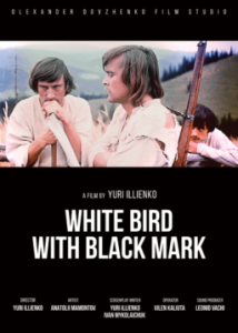 WHITE BIRD WITH BLACK MARK_poster