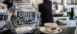 Risultati immagini per caffe sospeso
