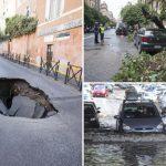 Risultati immagini per roma maltempo